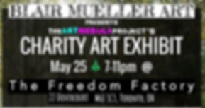 The Art Nebula Project Charity Art Exhibit - Toronto - April 28th