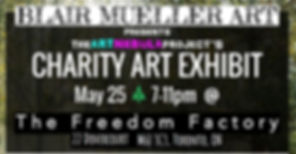 The Art Nebula Project Charity Art Exhibit - Toronto - April 28th