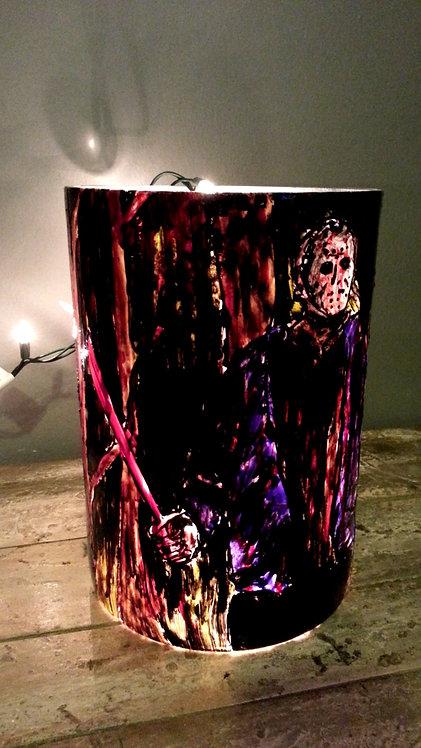 Jason Voorhees - Glass Lamp