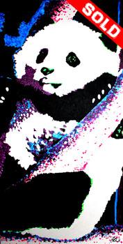 Panda Cub in Tree