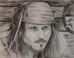 Cpt'n Jack Sparrow Blair Mueller Art