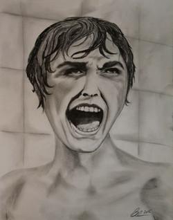 Psycho Horror Blair Mueller Art
