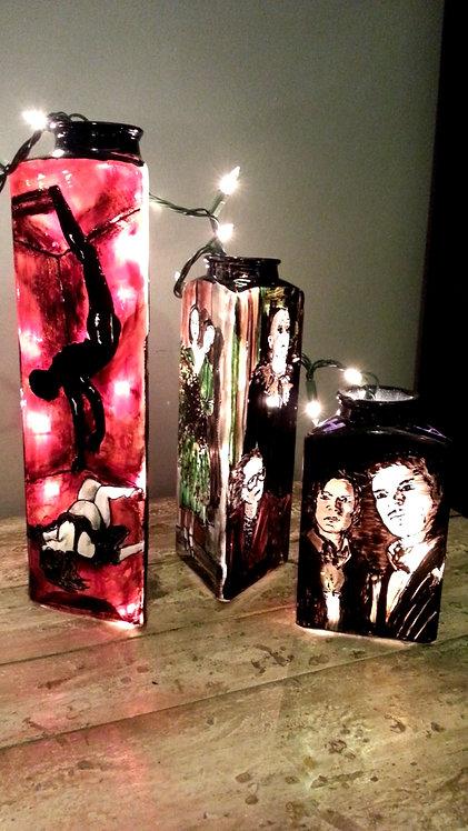 American Horror Story - Glass Lamp (3pc set)