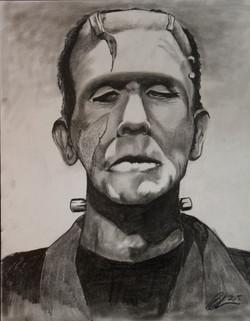 Frankenstein Blair Mueller Art