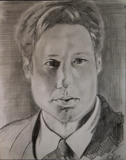 X-Files - Mulder Blair Mueller Art