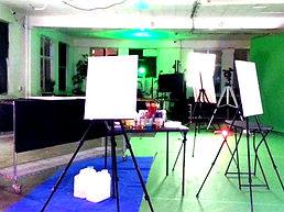 The Art Nebula Project | Easels