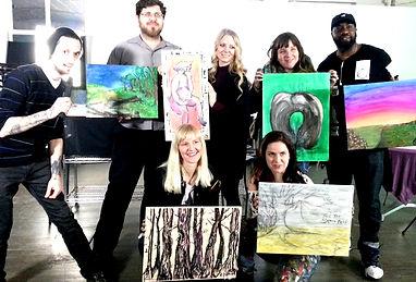 The Art Nebula Project | Group Photo