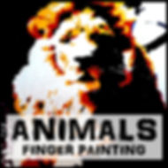 Blair Mueller Art | Acrylic Finger Painting | Animals Series