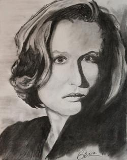 X-Files - Scully Blair Mueller Art