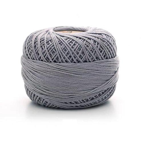 Dark Grey Fine 100% Cotton Yarn