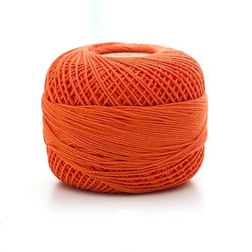 Bright Orange Fine 100% Cotton Yarn
