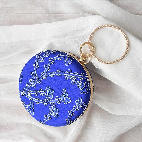 Embroidery Evening Cocktail Wristlets Handbag Purse
