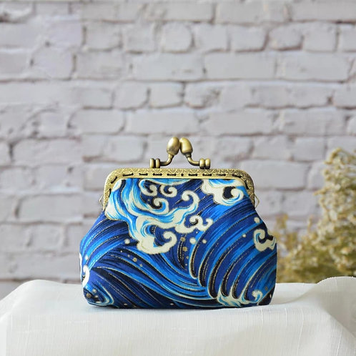 Mini Fabric Coin Purse Making Kit with Introduction workshop
