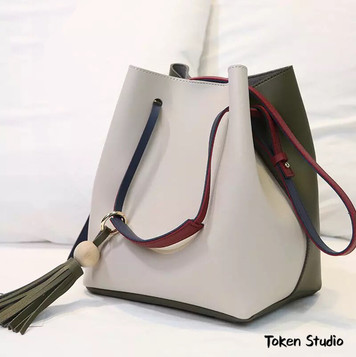 Leather bag making