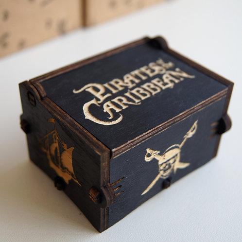 Музыкальная шкатулка Pirates of the Caribbean