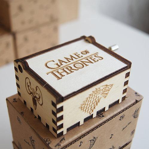 Музыкальная шкатулка Game of Thrones