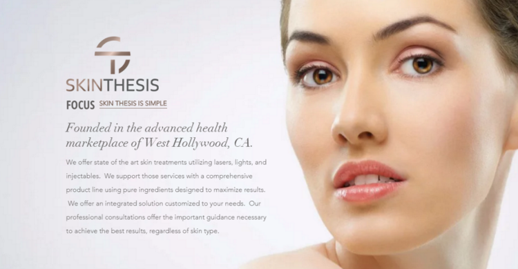 Skin Thesis | Menu