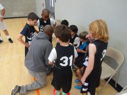 Coach Chad w. Team