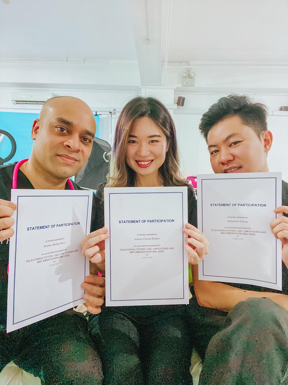 RESCU Doctor Video Consultation Singapore