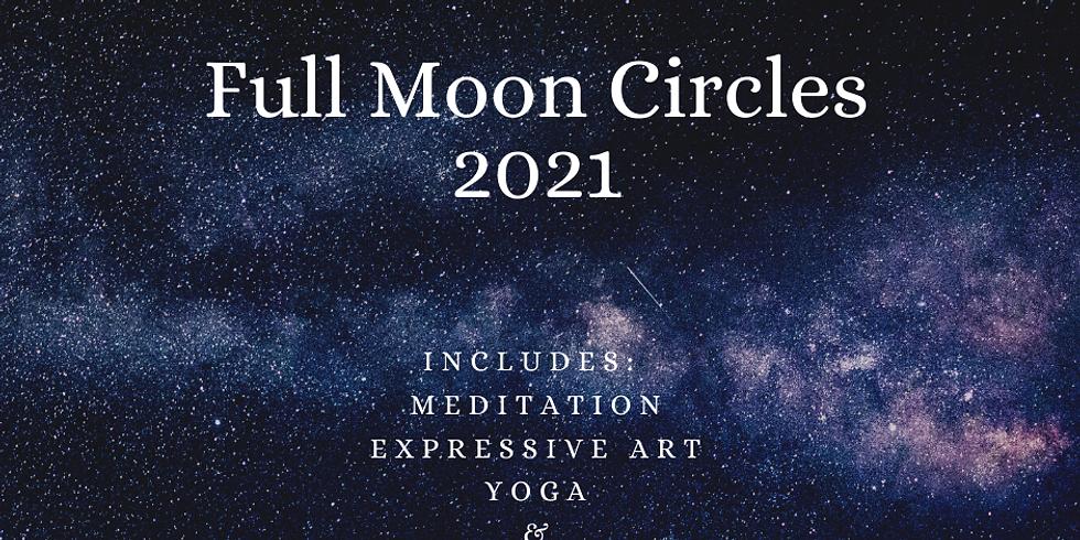 2021 Full Moon Circles