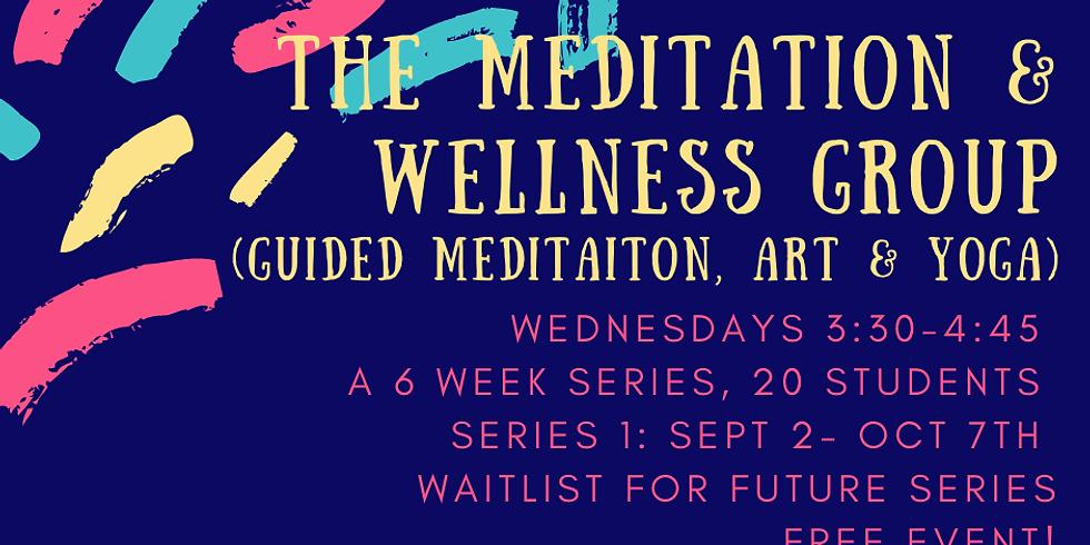 CW Meditation & Wellness Club! Waitlist!