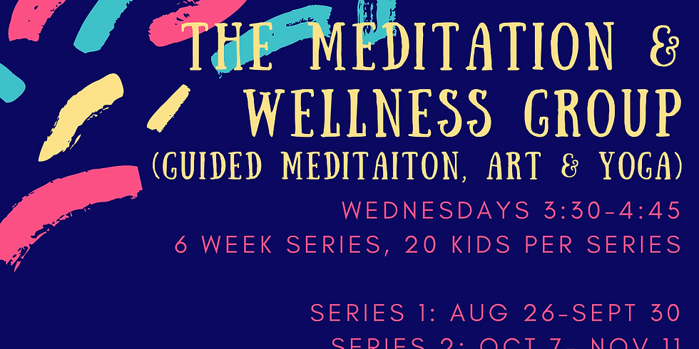 CW Meditation & Wellness Club! Series 3