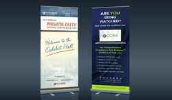 Private Duty & CCRA Banner Stands
