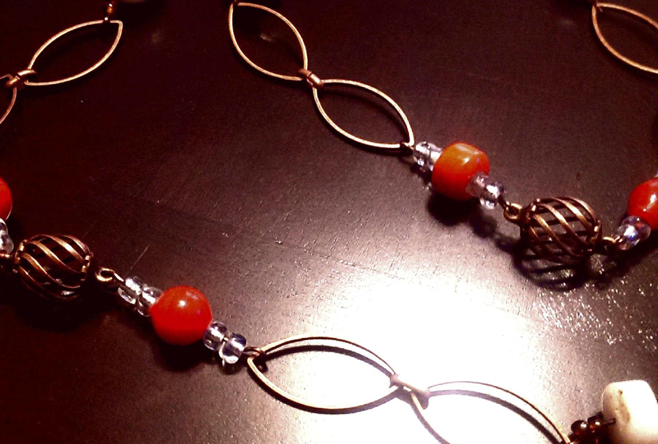 Orange and Copper Eyedrop
