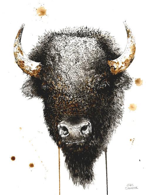 Dark Bison