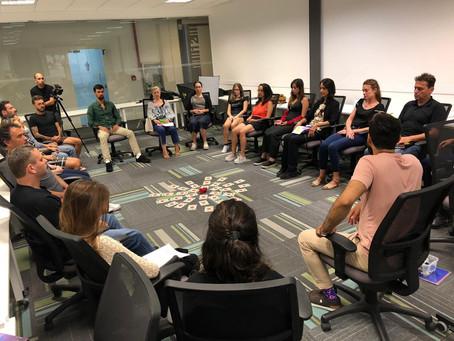 Como é um coffee break de dinâmicas de grupo para projetos socioambientais?