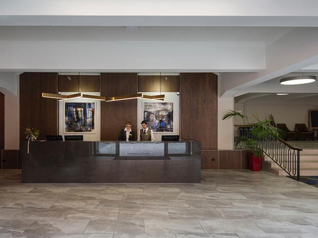 Reception, Distinction Hotel, Dunedin