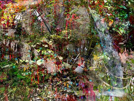 Gardening Leave, 2016  Archival pigment print on fine art paper, 1100 x 900mm