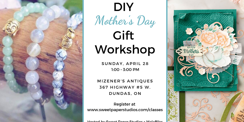 DIY Mother's Day Gift Workshop at Mizener's Antiques