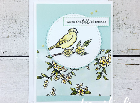 Free As A Bird Card w/VIDEO & Online Class