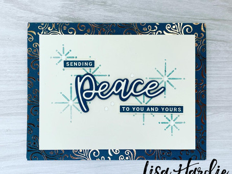 Sending Peace Card with VIDEO