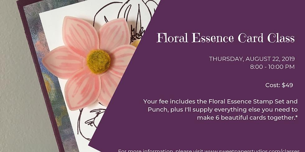 Floral Essence Card Class