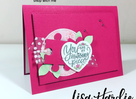 Love You to Pieces Card for PCC320