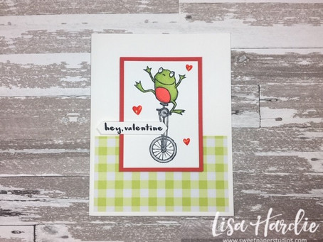 #SimpleStamping with the So Hoppy Together Stamp Set
