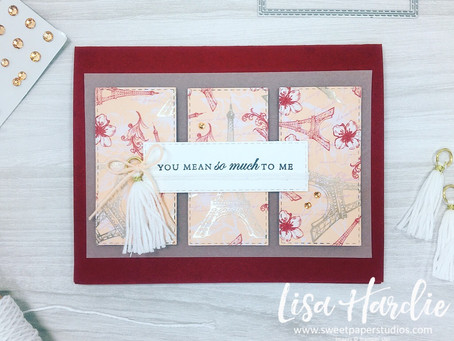 Parisian Blossoms Card