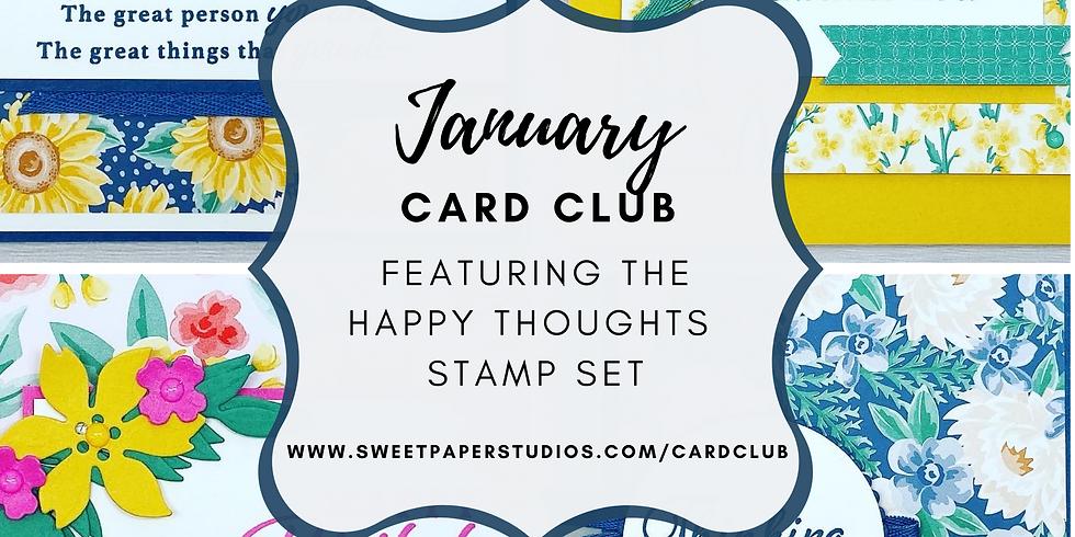 January Card Club