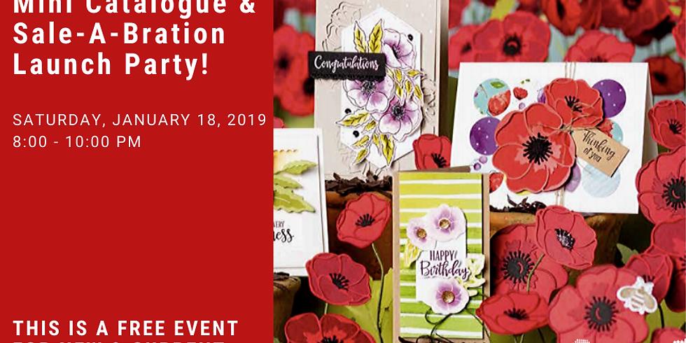 Mini Catalogue and Sale-A-Bration Launch Party