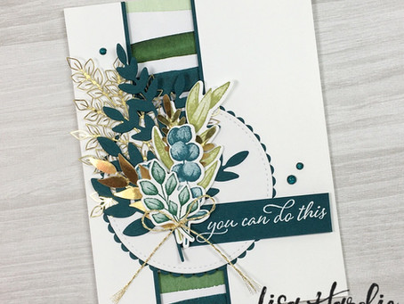 Forever Greenery Card - Annual Catalogue Sneak Peek