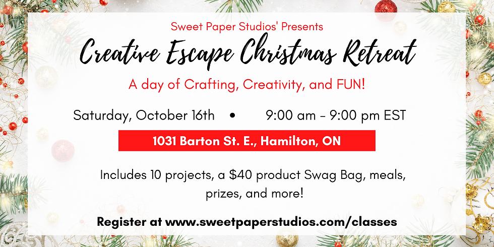 Creative Escape Christmas Retreat - In Person & Online!