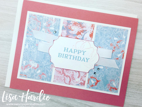 The Spot #107 | Woven Threads Birthday Card