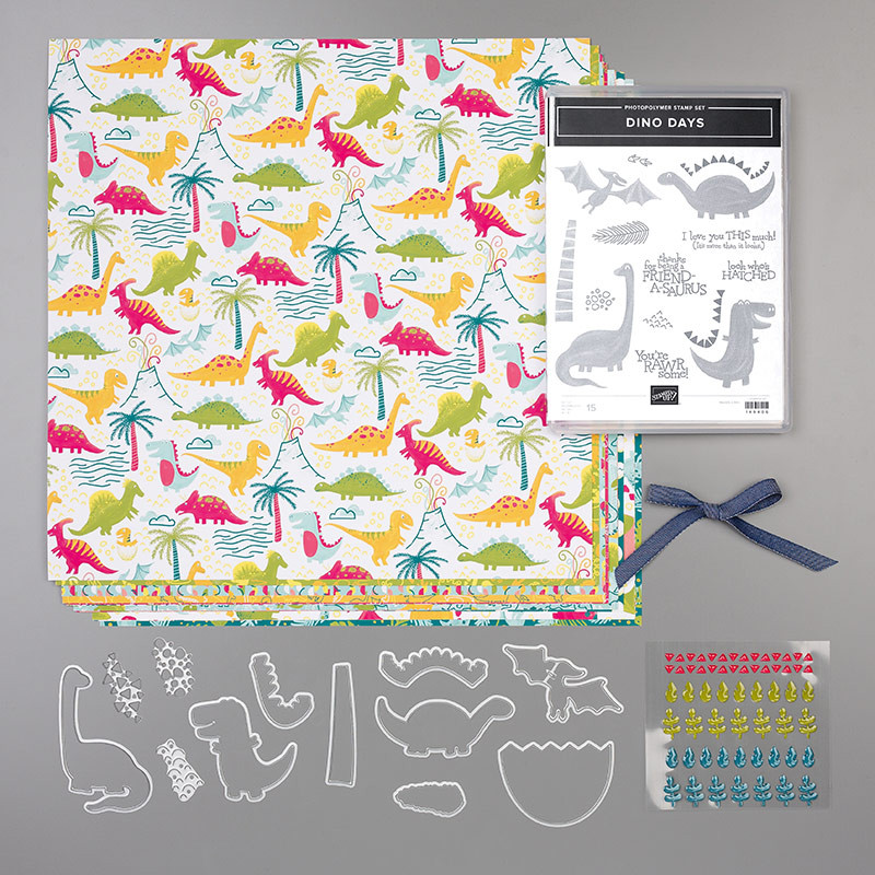 Dinoroar Suite by Stampin' Up!
