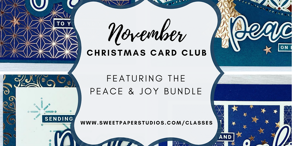 November Christmas Card Club