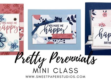 FREE Pretty Perennials Mini Class with VIDEO