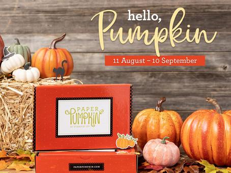 Paper Pumpkin Preview - September 2020