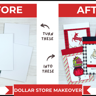 Easy Dollar Store Notepad Makeover   Video Tutorial