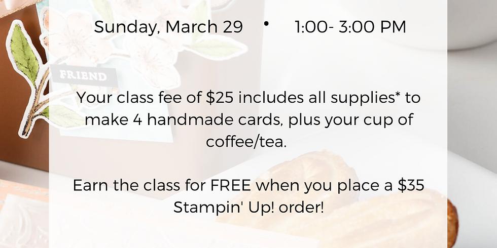 Coffee & Card Class